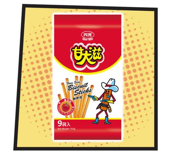 Okashi Land 零食物語 eshop 甘大滋蕃茄味