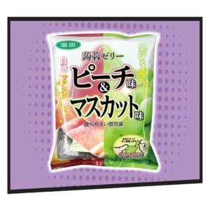 Okashi Land 零食物語 eshop 宮田提子味及芒果味蒟蒻