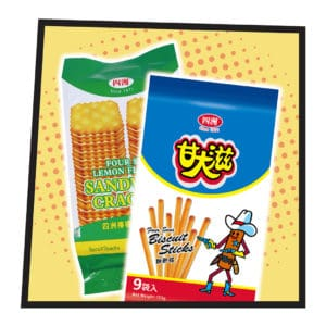Okashi Land 零食物語 eshop cookies